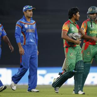 Bangladesh cruise past Afghanistan