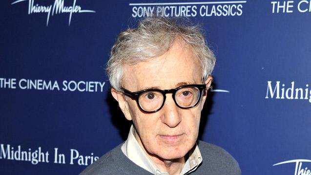 Woody Allen The Cinema Society And Thierry Mugler Screening Of Midnight In Paris