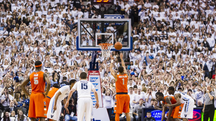 NCAA Basketball: Syracuse at Villanova