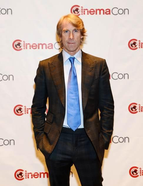 Michael Bay arrives at CinemaCon 2013 Paramount opening night party and presentation at Caesars Palace in Las Vegas on April 15, 2013 -- Getty Premium