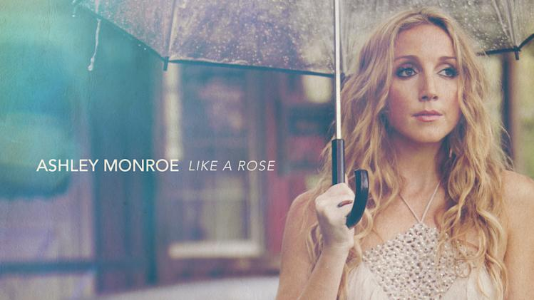 "This CD cover image released by Warner Bros. Records shows ""Like a Rose,"" by Ashley Monroe. (AP Photo/Warner Bros. Records)"