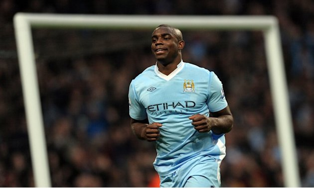 Manchester City's Micah Richards, pictured in Manchester, north-west England, on November 19, 2011