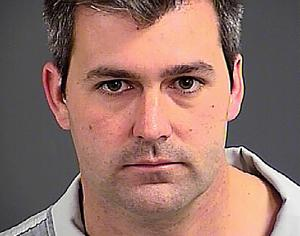 Police officer Michael Slager is seen in an undated …
