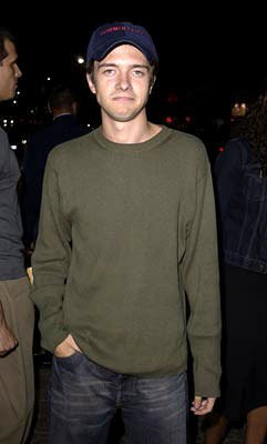 Premiere: Topher Grace at the Westwood premiere of Warner Brothers' Summer Catch - 8/22/2001