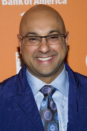"FILE - In this Oct. 11, 2012 file photo, Ali Velshi attends ""On The Chopping Block: A Roast of Anthony Bourdain"" in New York. The Al Jazeera America channel says that CNN chief business correspondent, Ali Velshi, is coming aboard. The channel, set to launch later this year, said Thursday, April 4, 2013, that Velshi will develop and host a prime-time program that will debut as a half-hour weekly series. (Photo by Charles Sykes/Invision/AP Images, File)"