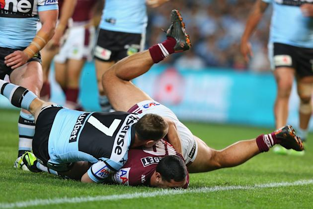 NRL First Semi Final - Sea Eagles v Sharks