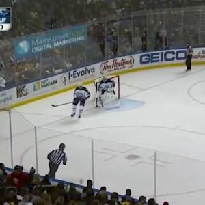 Chris Stewart Hit on Grant Clitsome (10:00/2nd)