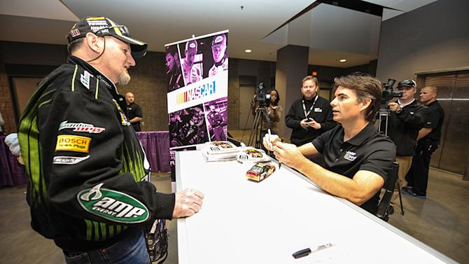 Fans show dedication at NASCAR Preview