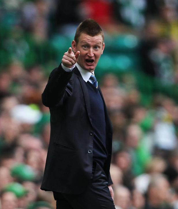 Steve Lomas saw St Johnstone's long unbeaten run ended by a drubbing at Celtic
