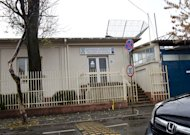 The National Registry Office for Classified Information, also known as ORNISS, sits in a busy residential neighborhood minutes from the center of Romania's capital city of Bucharest in this recent photo. Between 2003 and 2006, the CIA operated a secret prison from the building's basement, bringing in high-value terror suspects for interrogation and detention. A joint AP-ARD Panorama investigation revealed the exact location of the prison. (AP Photo)
