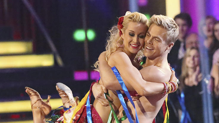 Kellie Pickler and Derek Hough (4/29/13)
