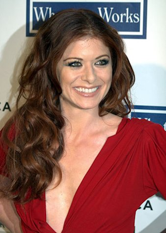 Actress Debra Messing bares it all in the upcoming issue of Allure magazine.