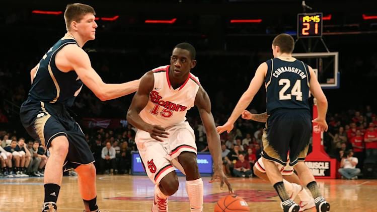 NCAA Basketball: Notre Dame at St. John's