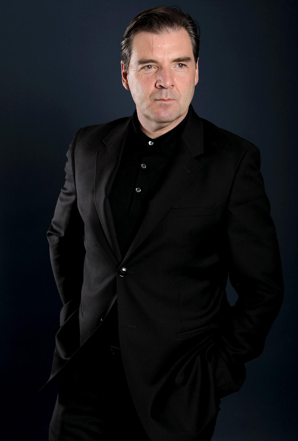 "Actor Brendan Coyle, from ""Downton Abbey"", poses for a portrait during the PBS TCA Press Tour on Saturday, July 21, 2012, in Beverly Hills, Calif. (Photo by Matt Sayles/Invision/AP)"