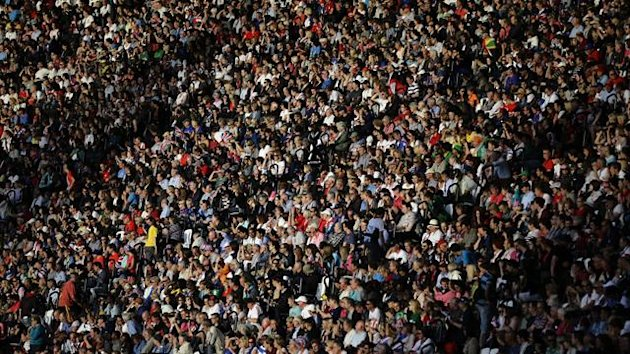The brilliant London 2012 Olympic Stadium crowd