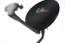 A Dish Network dish that provides satellite Internet.