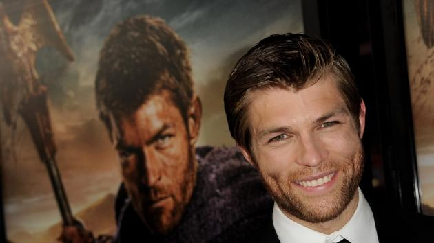 Liam McIntyre arrives at the premiere of Starz's 'Spartacus: War Of The Damned' at the Regal Cinemas L.A. Live, Los Angeles, on January 22, 2013 -- Getty Images