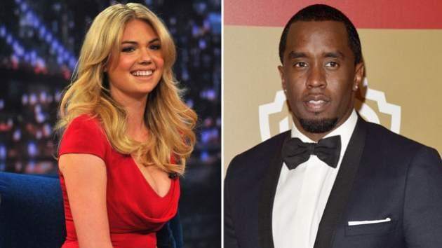 Kate Upton / Diddy -- Getty Premium