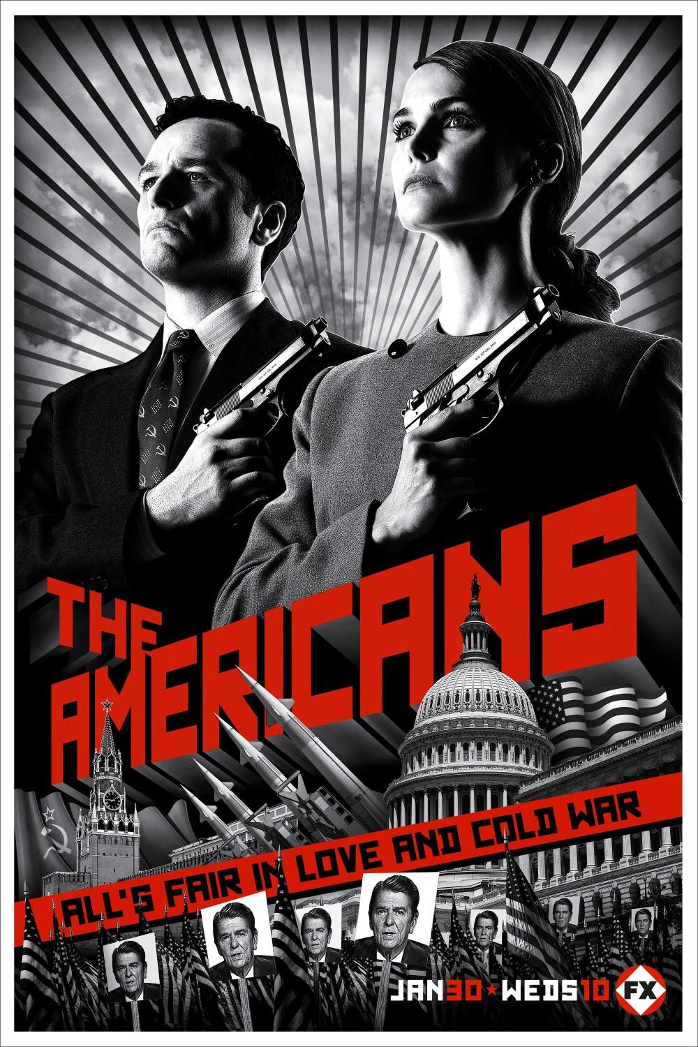 Russian spies center stage in 'The Americans'