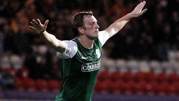 Liam Craig netted a second-half winner for Hibernian