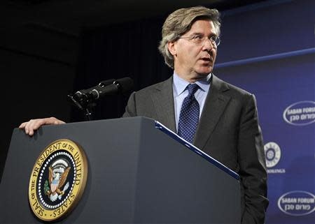 Thornton at Newseum in Washington in this file photo