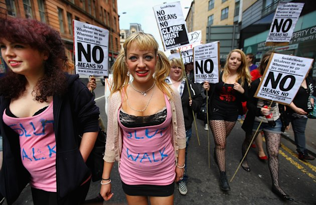 People March As The Slutwalk Arrives In Scotland
