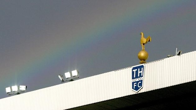 Tottenham stand at White Hart Lane