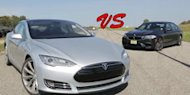 [VIDEO] Mobil Listrik Tesla Model S VS New BMW M5