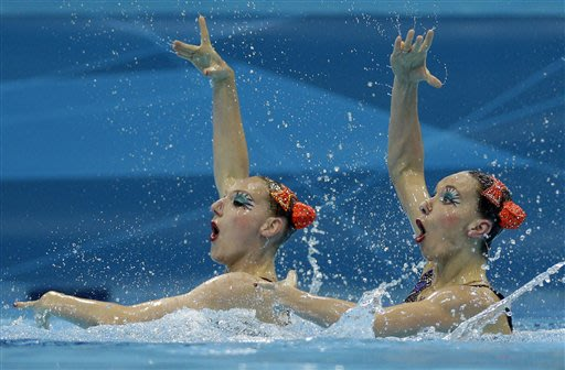 Russia favored for another gold in Olympic synchro
