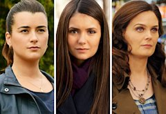 Cote de Pablo, Nina Dobrev, Emily Deschanel | Photo Credits: Michael Yarish/CBS, Bob Mahoney/The CW, Ray Mickshaw/FOX