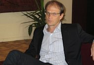 Denis Lavagne, pictured in 2011, has been fired as manager of Cameroon, three months into his contract, the west African country&#39;s state radio announced on Thursday
