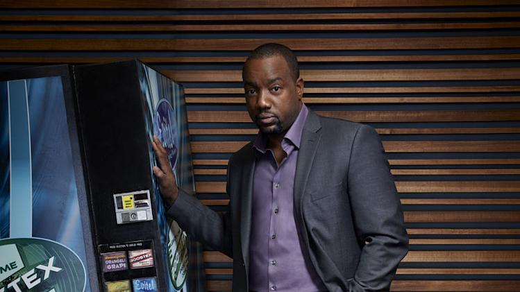"Malik Yoba stars as Bill Harken in ""Alphas."""