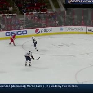 Jake Allen Save on Nathan Gerbe (11:11/2nd)