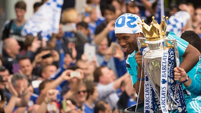 Chelsea's Didier Drogba has now played his last competitive match for the Premier League champions