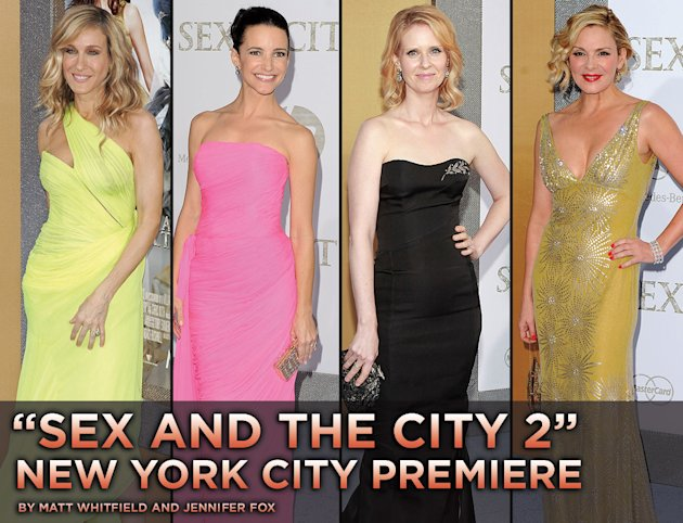 Sex and the city 2 NY premiere 2010 Title Card