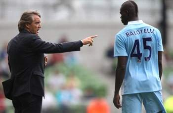 Mancini: Balotelli will 101 percent stay at Manchester City