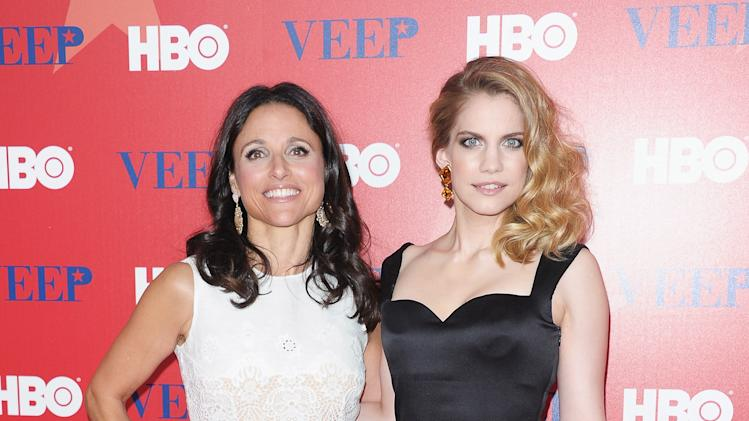 Julia-Louis Dreyfus and Anna Chlumsky
