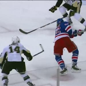 Hagelin whistles the OT winner past Fleury