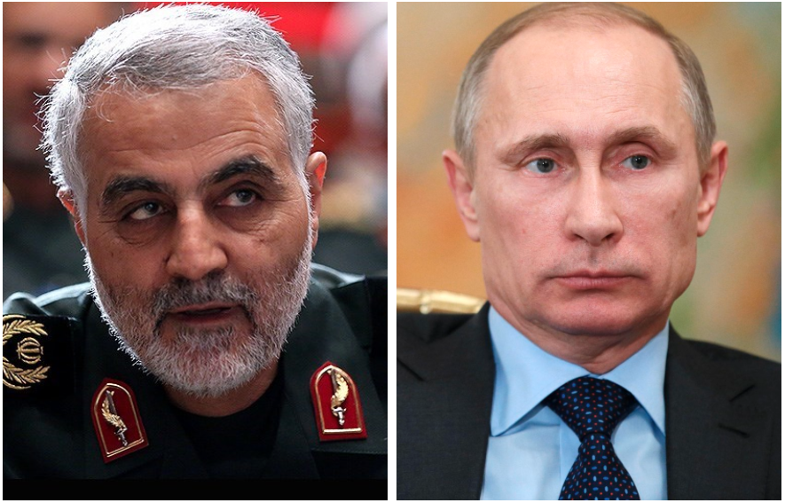 Israeli official: Iran's military mastermind went to Russia to talk to Putin about saving Assad