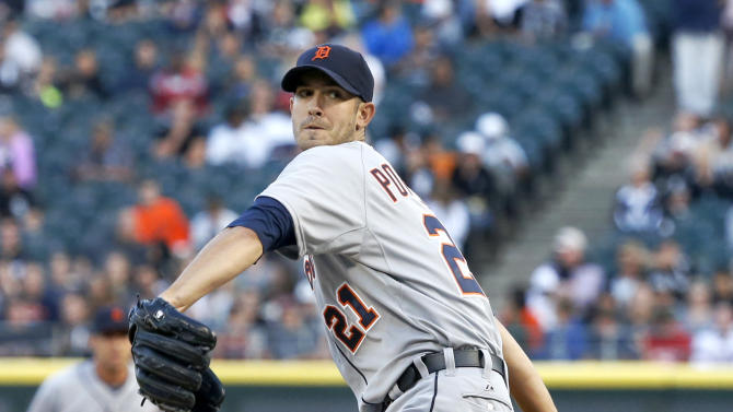 Porcello dominates, Tigers beat White Sox 6-2