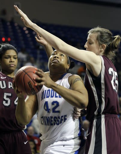 Late layup lifts UALR past Middle Tennessee 71-70