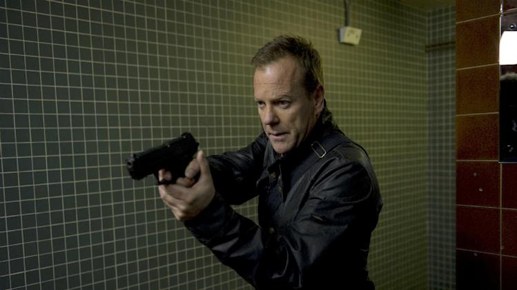 Kiefer Sutherland meets new co-stars in '24: Live Another Day' images