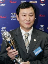 File photo of former China Football Association Vice President Yong posing at the AFC Annual Awards in Sydney