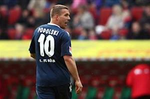 Koln boss Schafer: Arsenal transfer has liberated Podolski