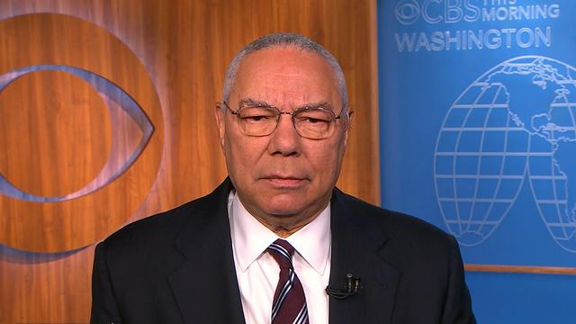 """Colin Powell: Cuba """"still a terrible regime,"""" but nothing wrong with opening diplomatic relations"""