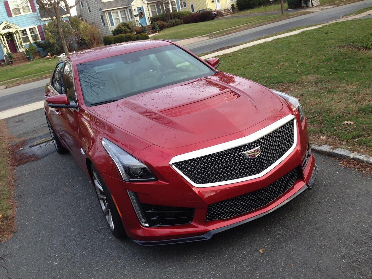 The Cadillac CTS-V will make you feel young — even if you're getting older (gm)