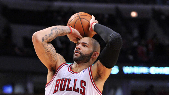 NBA: Atlanta Hawks at Chicago Bulls