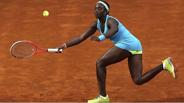 Tennis - Stephens ousted in Brussels, Cornet through in Strasbourg