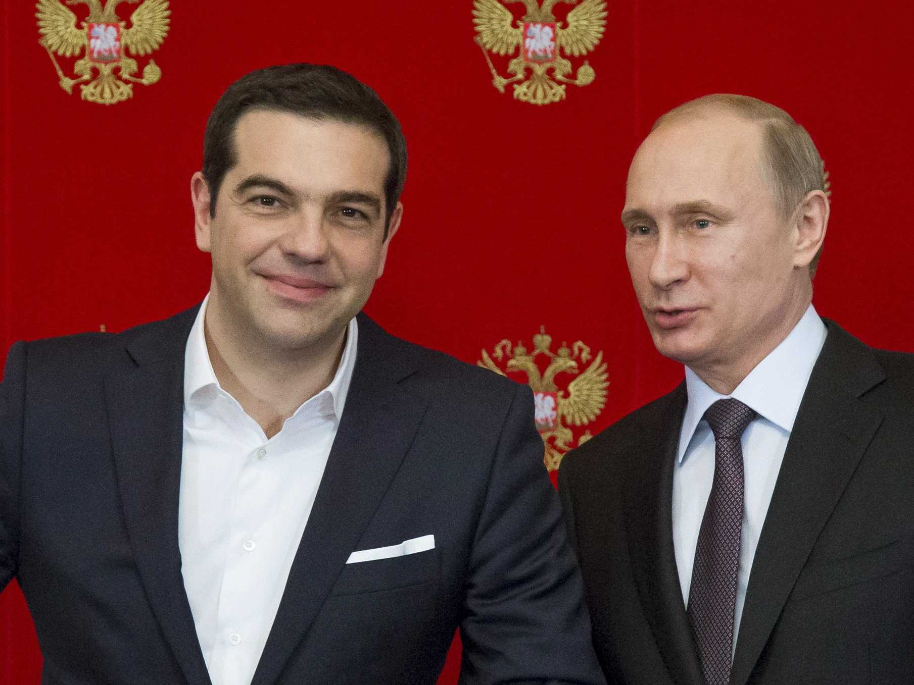 'Putin's in the middle of the game' as Russia looks to meddle in Greece