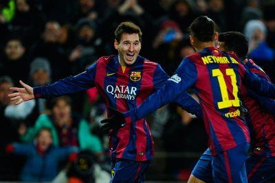 Lionel Messi takes over, basically wills Barcelona to win over Villarreal